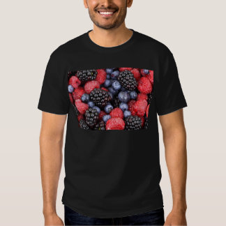 Forest Fruit Background Tee Shirt
