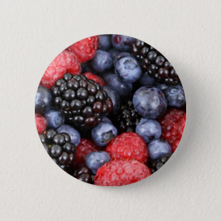 Forest Fruits Pinback Button