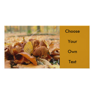 Forest Fungi #1 Personalized Photo Card