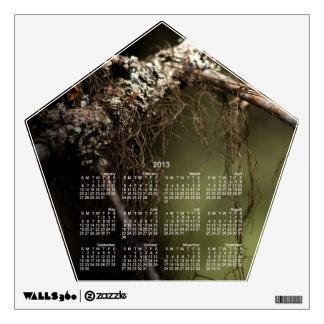 Forest Fuzz; 2013 Calendar Wall Decal