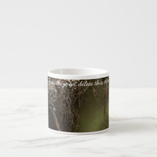 Forest Fuzz; Customizable Espresso Cup