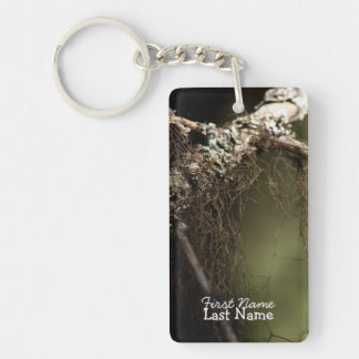 Forest Fuzz; Customizable Keychain