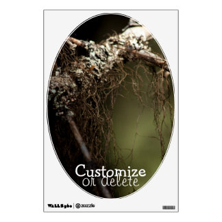 Forest Fuzz; Customizable Wall Decal
