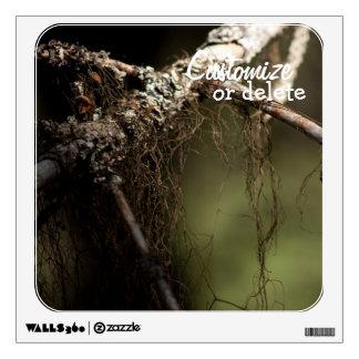 Forest Fuzz; Customizable Wall Sticker