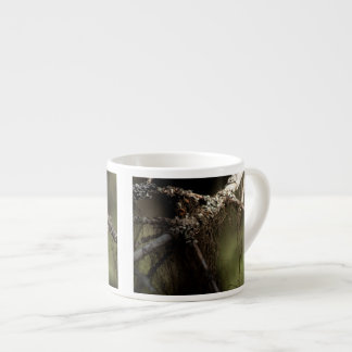 Forest Fuzz; No Text Espresso Cup