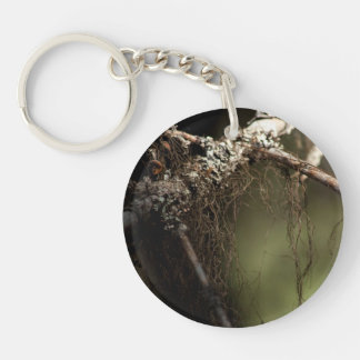 Forest Fuzz; No Text Keychain