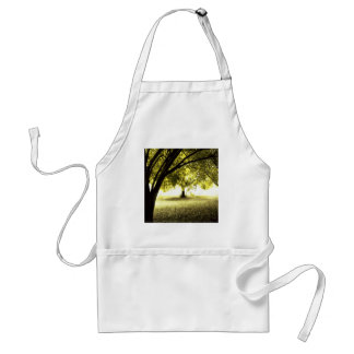 Forest Ghostly Sunshine Adult Apron