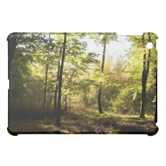 Forest glade iPad mini cover