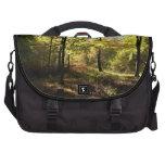 Forest glade laptop messenger bag