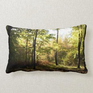 Forest glade lumbar pillow