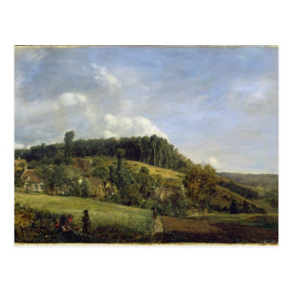 Forest Glade near a Village, 1833 Post Card