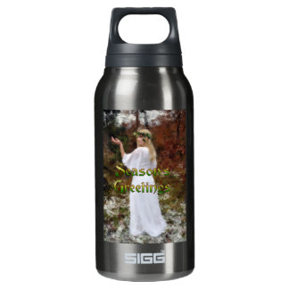 Forest Goddess - Season's Greetings Insulated Water Bottle