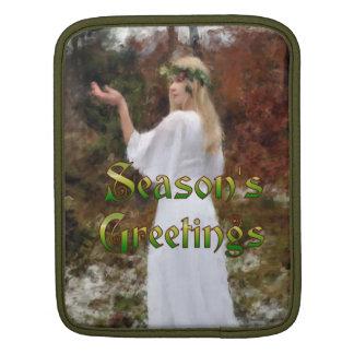 Forest Goddess - Season's Greetings Sleeve For iPads