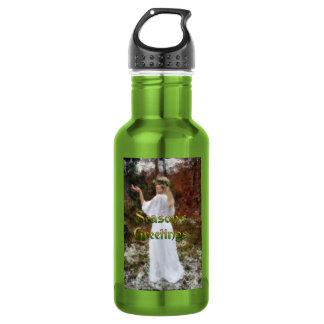 Forest Goddess - Season's Greetings Water Bottle