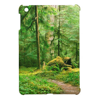 Forest Gray Wolf River Trail Olympic iPad Mini Cover