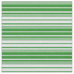 [ Thumbnail: Forest Green and Lavender Colored Pattern Fabric ]