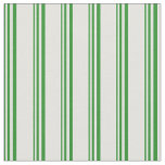 [ Thumbnail: Forest Green and Light Cyan Pattern Fabric ]