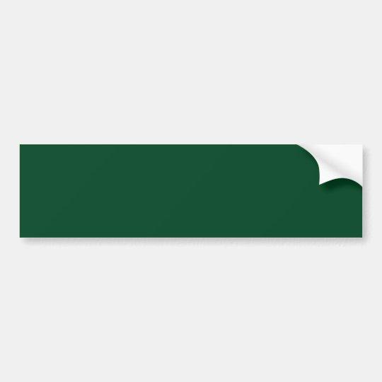 Forest Green Background Bumper Sticker