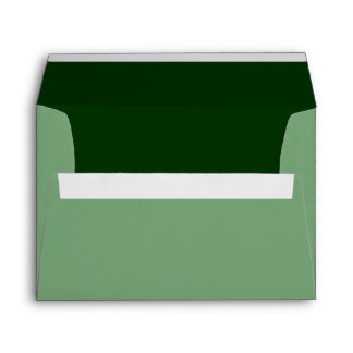 Forest Green Background Color Customize This! Envelope