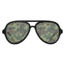 Forest Green Camo Lens Sunglasses/ Shades