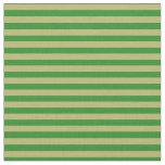 [ Thumbnail: Forest Green & Dark Khaki Colored Pattern Fabric ]