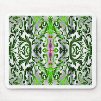 Forest Green Emerald Dream Mouse Pad