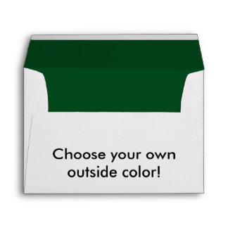 Forest Green Envelope
