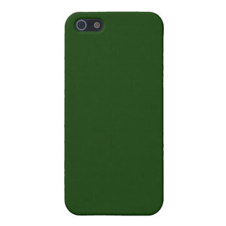 Forest Green iPhone 5 Carcasas