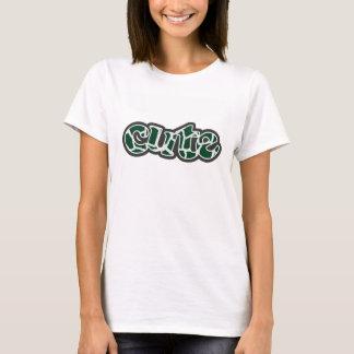 Forest Green Giraffe Animal Print T-Shirt