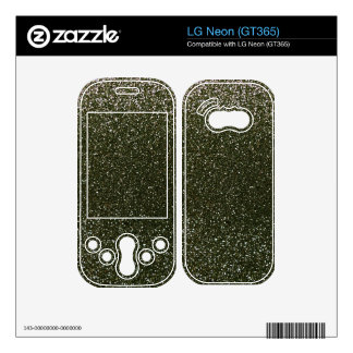 Forest green glitter LG neon decal