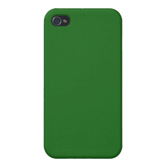 Forest Green Case For iPhone 4