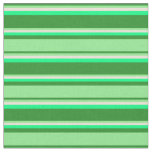 [ Thumbnail: Forest Green, Light Green, Bisque & Green Lines Fabric ]