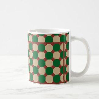 Forest Green Octagon Mug