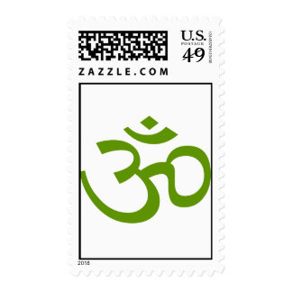 Forest Green OM o Aum ॐ png Sello