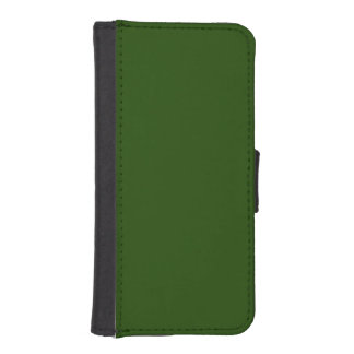Forest green phone wallets