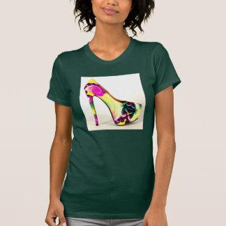 Forest Green Platform High Heel Pump Fashion Shirt