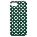 Forest Green Polka Dot iPhone 5 Covers