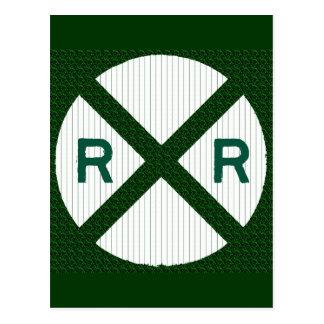 Forest Green Railroadiana Postal