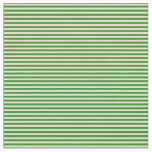 [ Thumbnail: Forest Green & Tan Colored Pattern Fabric ]