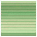 [ Thumbnail: Forest Green & Tan Pattern Fabric ]