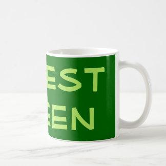 Forest Green Tazas De Café