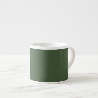 Forest Green Taza Espresso