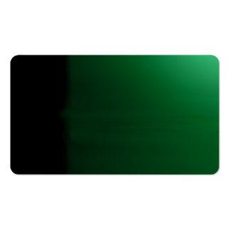 Forest Green Unusual Visual Identifiers Biz Card