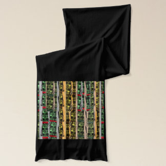 FOREST Green Waves COLORmania  : WALK RUN SHOW Scarf