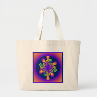 forest grove large tote bag