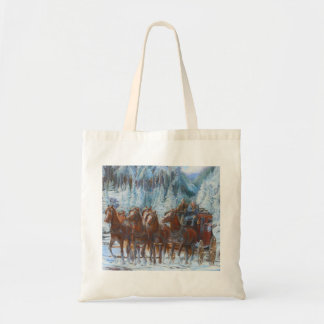 Forest Grove to Tillamook Stagecoach 1896 Tote Bag