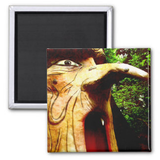 Forest Hag 2 Inch Square Magnet
