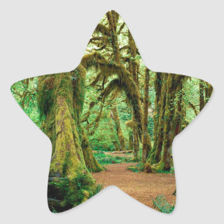 Forest Hall Of Mosses Olympic Star Sticker