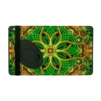 Forest Heart Mandala iPad Folio Case