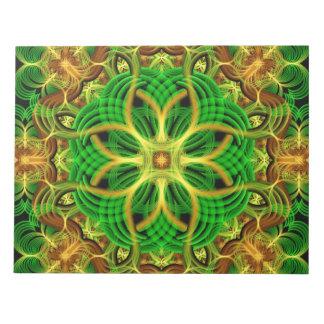 Forest Heart Mandala Notepad